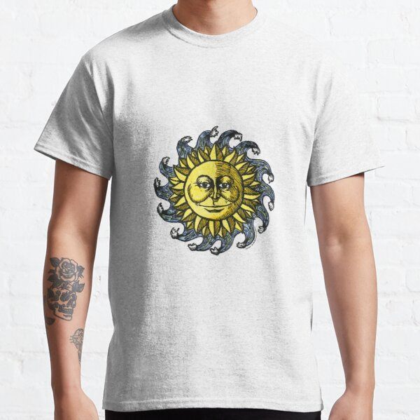 Sun and Waves Classic T-Shirt