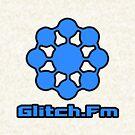 Glitch.Fm Logo - Blue by David Avatara