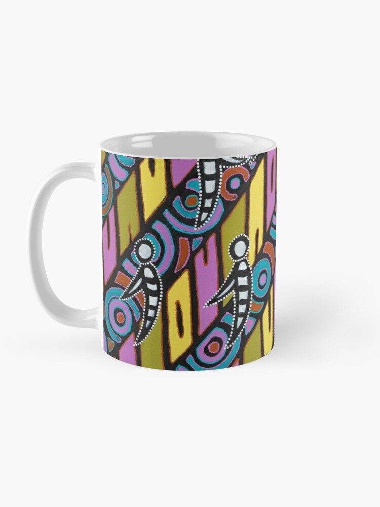 Alternate view of I am (White Cockatoo Dreaming) Mug