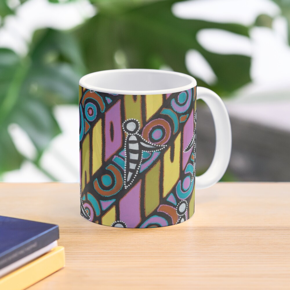 I am (White Cockatoo Dreaming) Mug