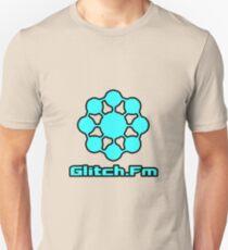 Glitch.Fm Logo - Sky Blue Unisex T-Shirt
