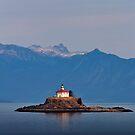 Eldred Rock Lighthouse. by Alex Preiss