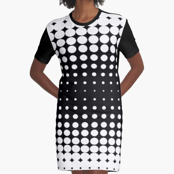 #metal #pattern #texture #abstract #steel #metallic #black #grid #hole #mesh #iron #design #textured #wallpaper #surface #gray #technology #material #backgrounds #round #seamless #circle #backdrop Graphic T-Shirt Dress