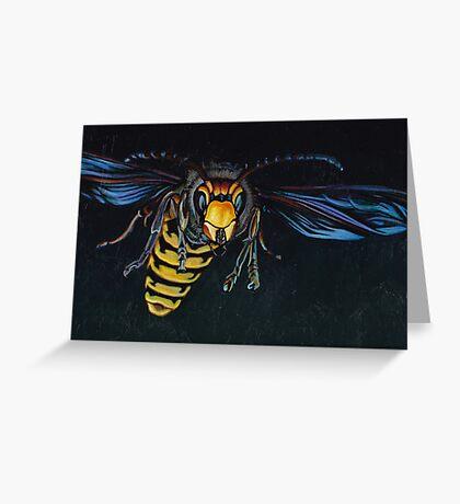 Japanese Hornet Greeting Card
