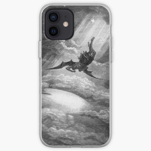 The Fall of Satan - Gustave Dore iPhone Soft Case