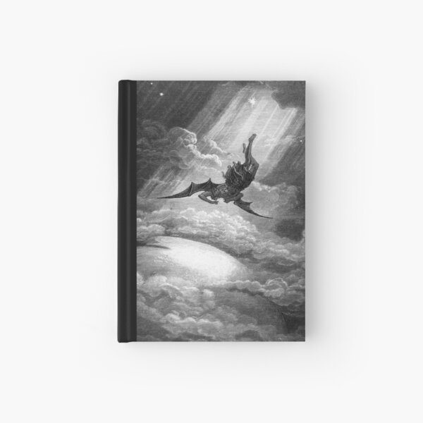 The Fall of Satan - Gustave Dore Hardcover Journal