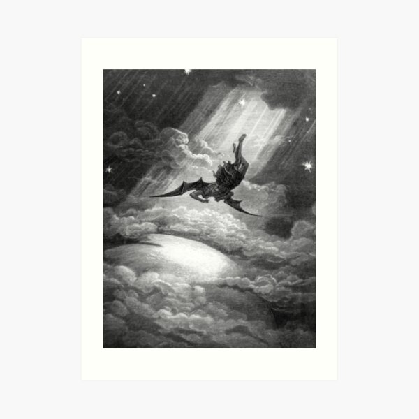 The Fall of Satan - Gustave Dore Art Print
