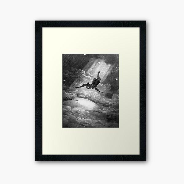The Fall of Satan - Gustave Dore Framed Art Print