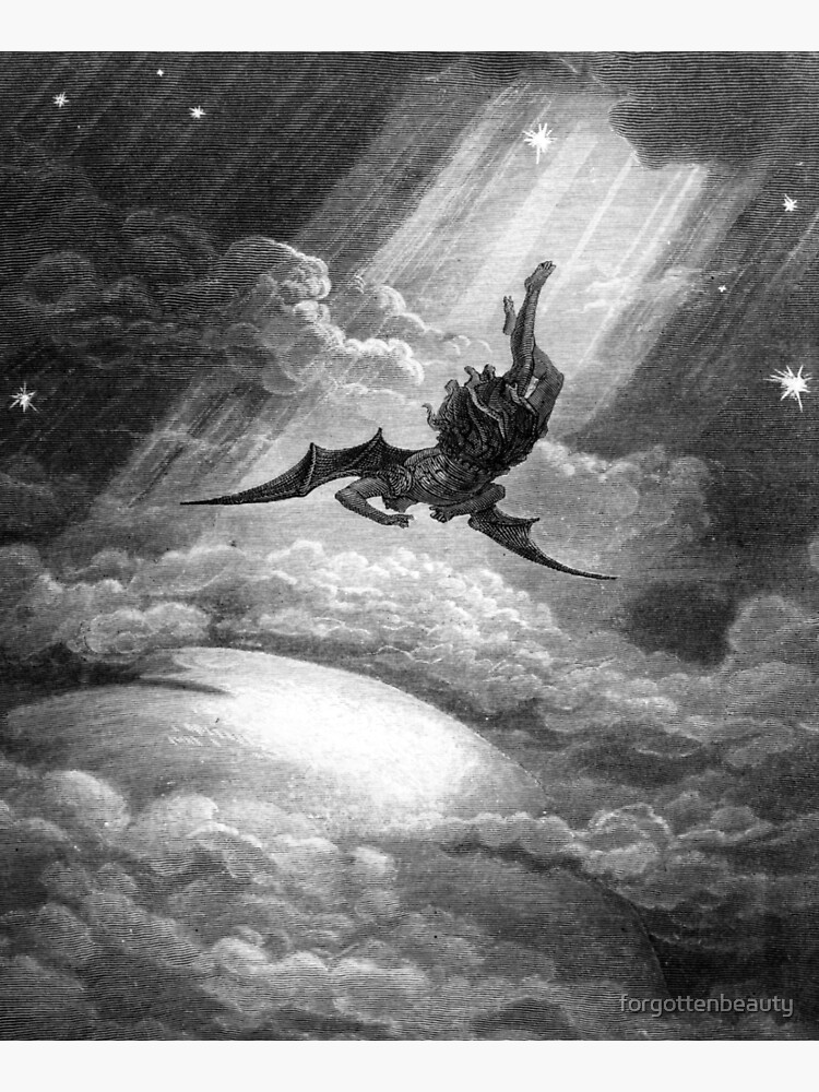 The Fall of Satan - Gustave Dore by forgottenbeauty
