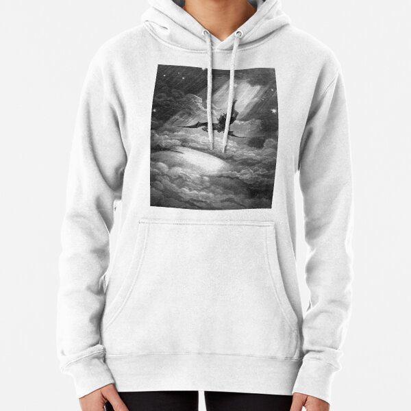 The Fall of Satan - Gustave Dore Pullover Hoodie