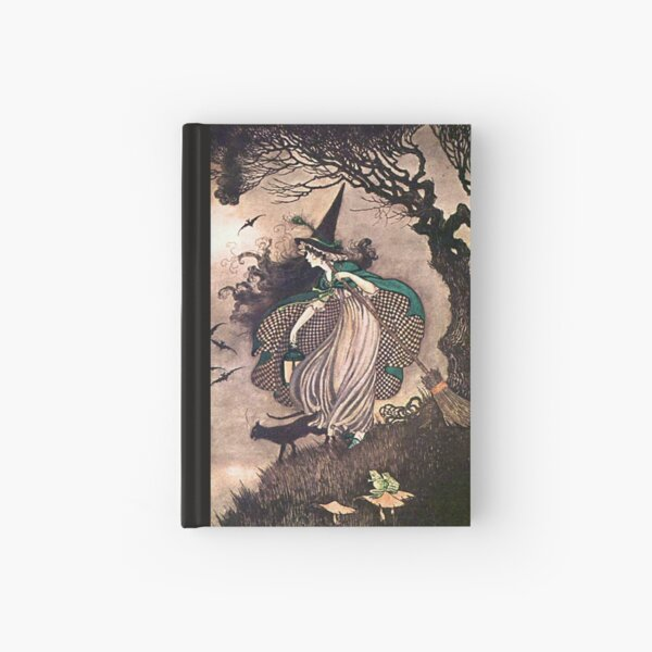 The Little Witch - Ida Rentoul Outhwaite Hardcover Journal