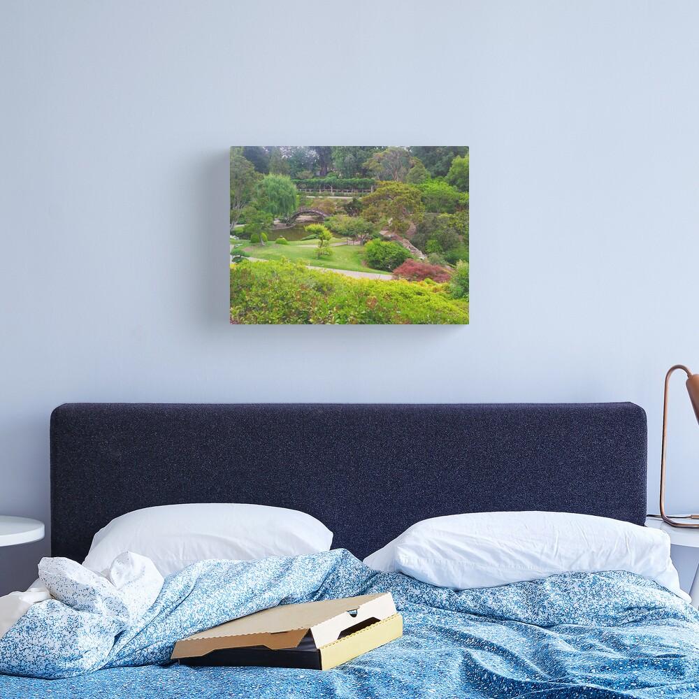 The Japanese Garden Canvas Print