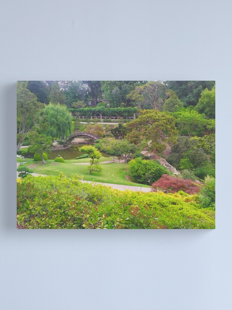 Alternate view of The Japanese Garden Canvas Print