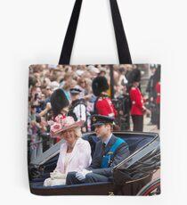 Prince William with Camilla Tote Bag