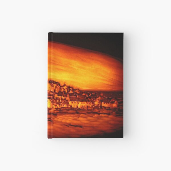 Pittenweem West Shore, Pumpkin Carving Hardcover Journal