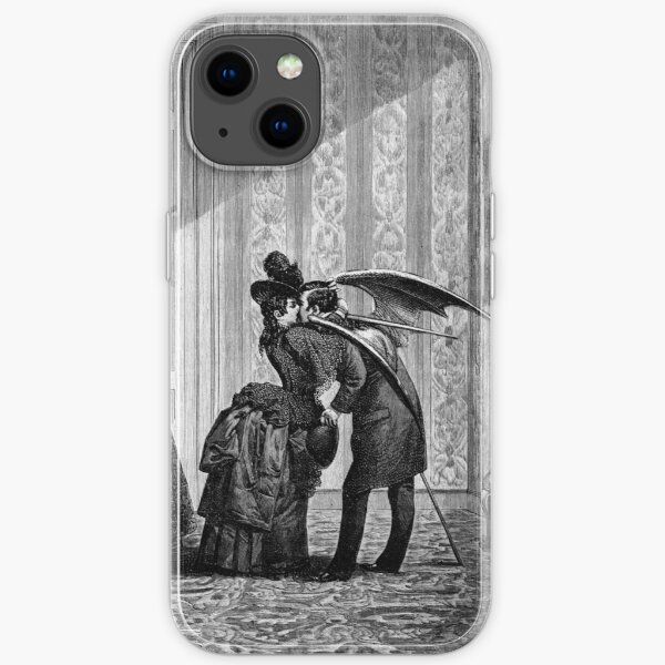 The Vampire's Kiss - Max Ernst iPhone Soft Case