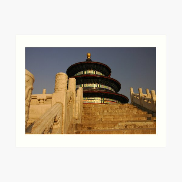 Stairway to (the Temple of) Heaven Art Print