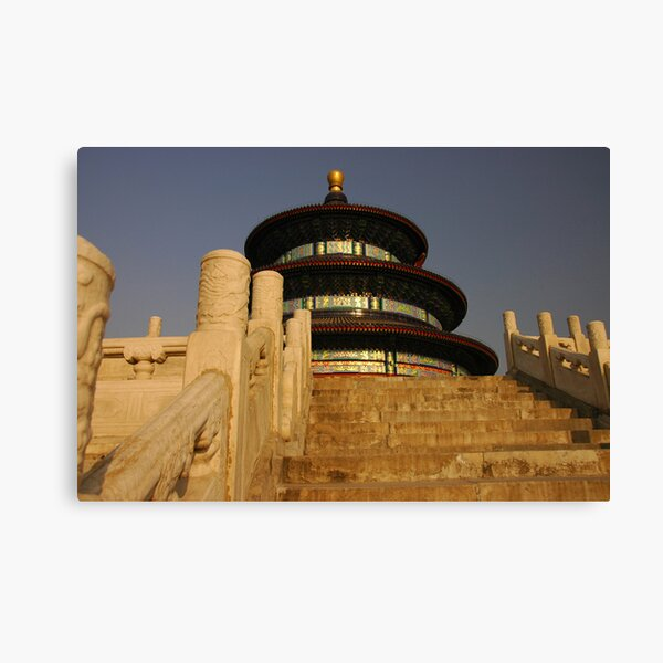 Stairway to (the Temple of) Heaven Canvas Print