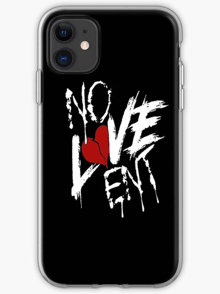 Nle Choppa Gear Merch No Love New Rap Iphone Case Cover By Flxtchrr Redbubble