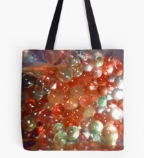 An Oranged Experiment with Gels Tote Bag
