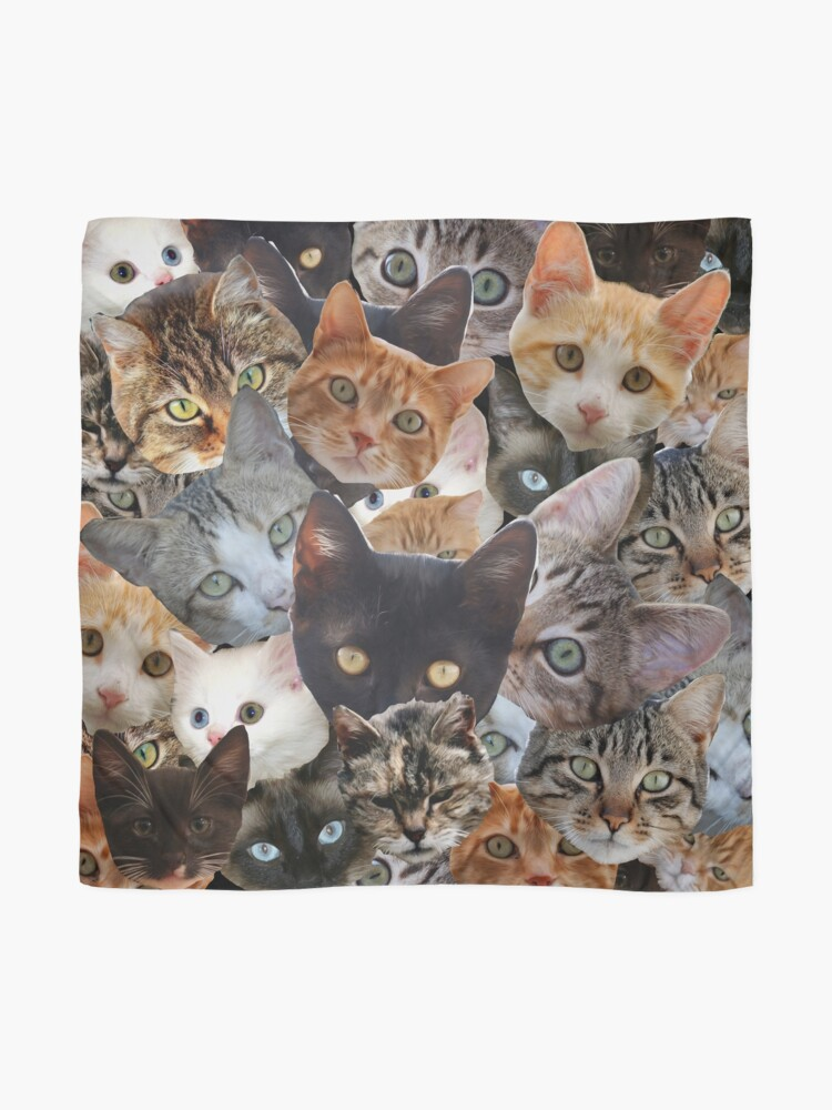 Alternate view of Kitty Collage Scarf