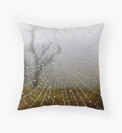 Web View Throw Pillow