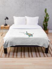 plankton Throw Blanket