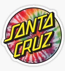 """santa cruz"" sticker Sticker"