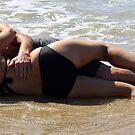 beach love  by Trish Threlfall