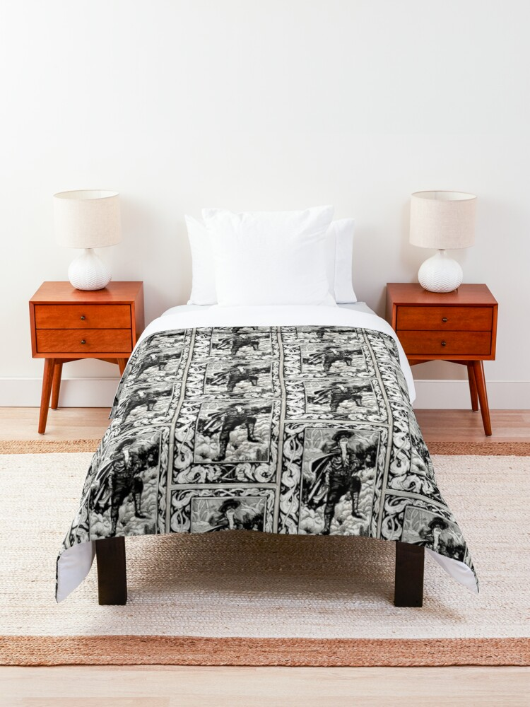 Alternate view of Kelmscott Zorro Comforter