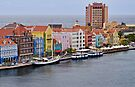 Bordering the Sea in Willemstad, Curacao by Gerda Grice