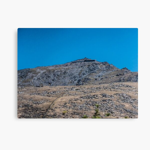 Mount Snowdon in Blue  Canvas Print