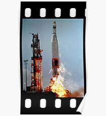 ICBM Launch  Poster