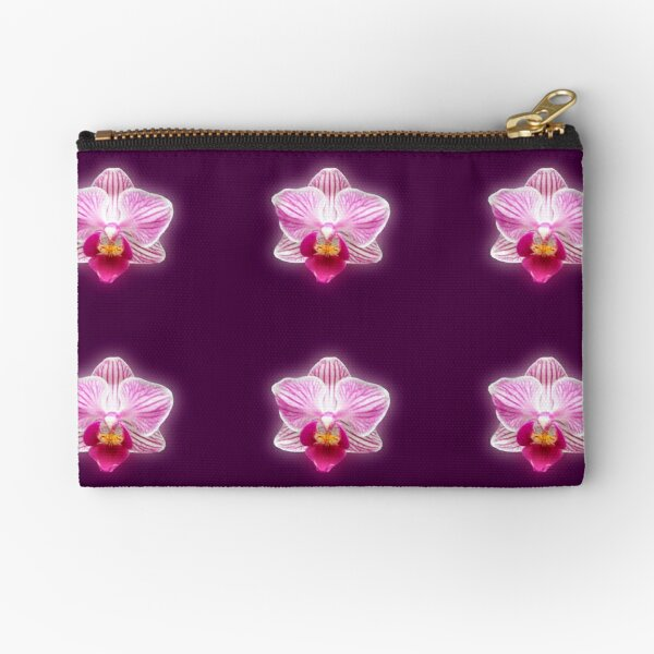 Glowing Orchid Zipper Pouch