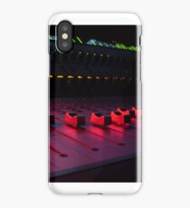 Red Faders iPhone Case/Skin
