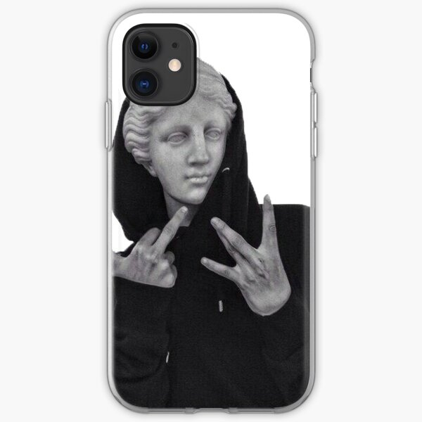 Phone case and thug sticker iPhone Soft Case