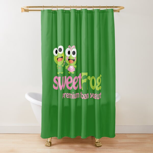 Sweet Frog Shower Curtain