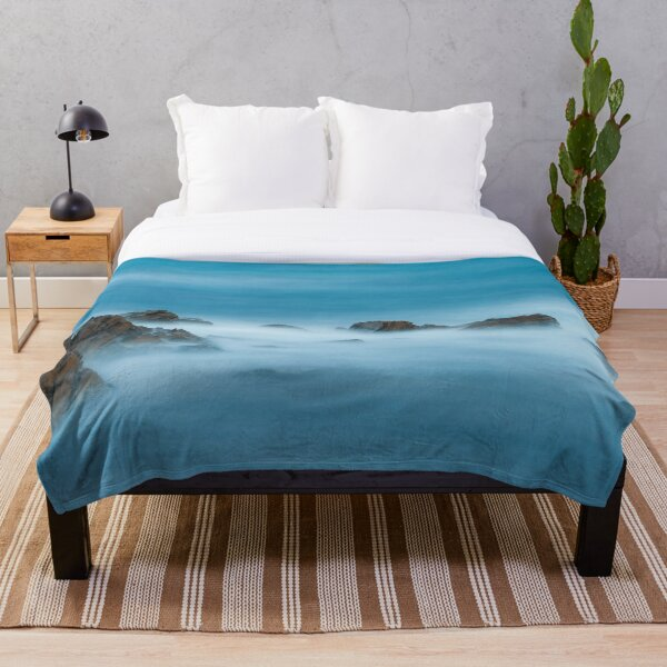Rugged Shore Throw Blanket