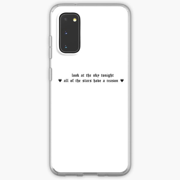 Star Shopping Lyrics Samsung Galaxy Soft Case