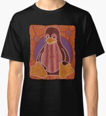 Tux (Solid background) Classic T-Shirt