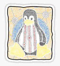 Tux Sticker