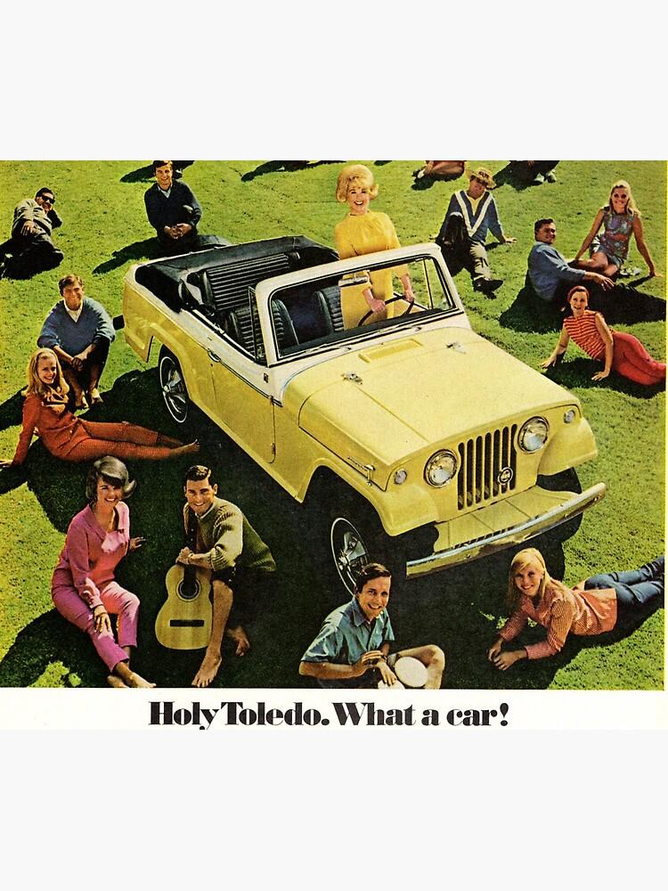 Jeep Jeepster Convertible advertisement 1967 by liesjes