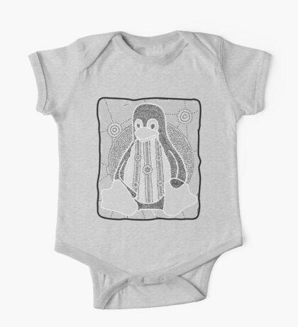 Tux (Monochrome) Kids Clothes