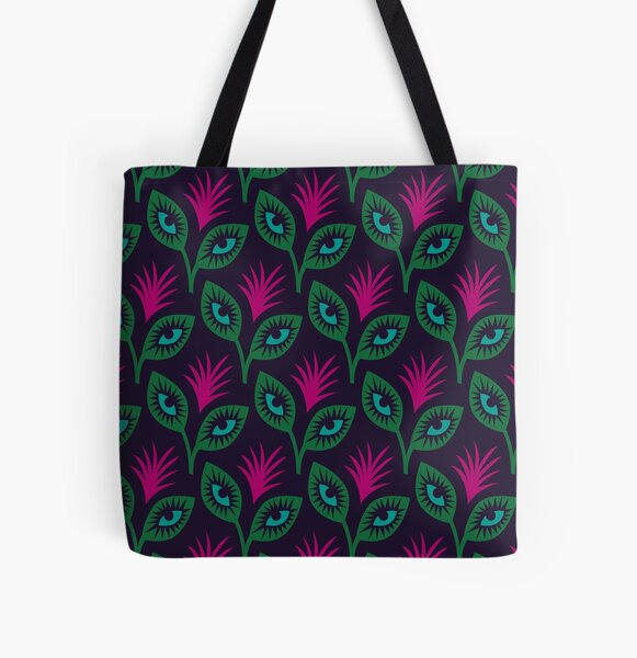 Eyes Wide Shut All Over Print Tote Bag