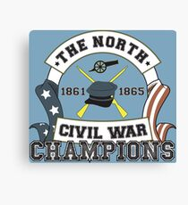 The North - Civil War Champions - Notherner Pride - Union Pride - Anti-Confederate Funny Shirt Canvas Print