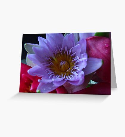 """Lillies"" Greeting Card"