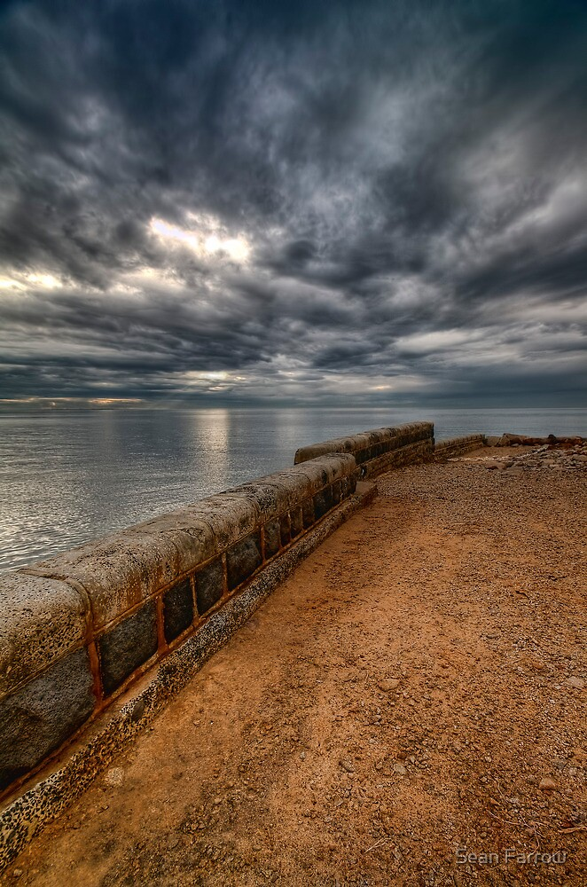 At the Breakwater by Sean Farrow