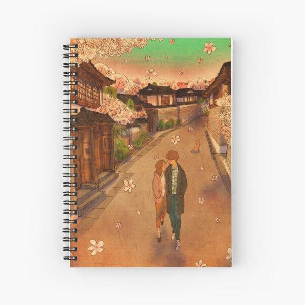 Hanok Village Spiral Notebook
