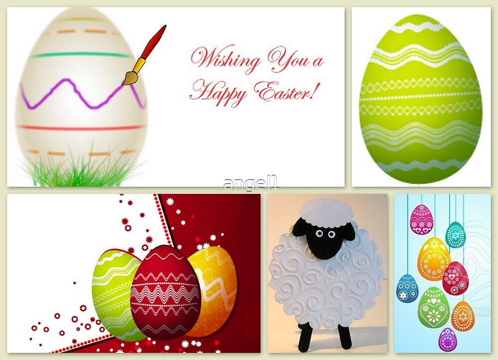 Wishing you a Happy Easter! by ©The Creative  Minds