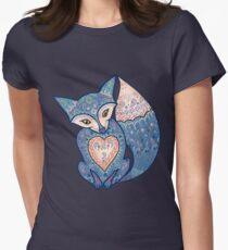 Mr Fox 5 Women's Fitted T-Shirt